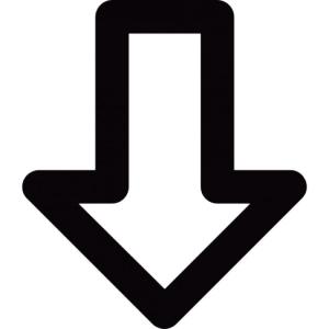 freccia-verso-il-basso-delineato_318-25391